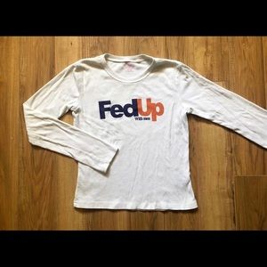 Tops - Fed Up with Men Long Sleeve
